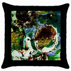 Doves Matchmaking 1 Throw Pillow Case (black)
