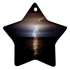 Lightning Ornament (star)