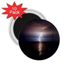 Lightning 2 25  Magnets (10 Pack)