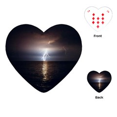 Lightning Playing Cards (heart)