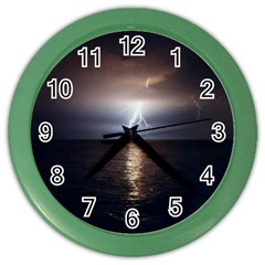 Lightning Color Wall Clocks