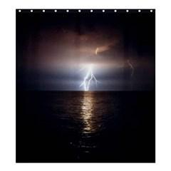 Lightning Shower Curtain 66  X 72  (large)