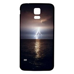 Lightning Samsung Galaxy S5 Back Case (white)