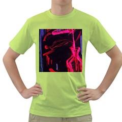 Calligraphy 4 Green T Shirt