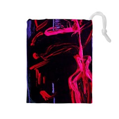 Calligraphy 4 Drawstring Pouches (large)