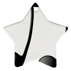 Music Note Ornament (star)