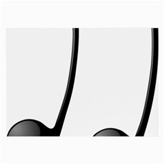 Music Note Large Glasses Cloth