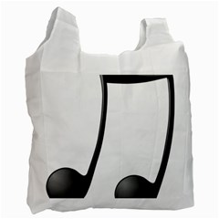 Music Note Recycle Bag (two Side)