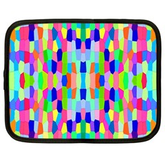 Artwork By Patrick Colorful 35 Netbook Case (large) by ArtworkByPatrick