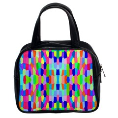 Artwork By Patrick Colorful 35 Classic Handbags (2 Sides) by ArtworkByPatrick