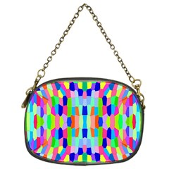 Artwork By Patrick Colorful 35 Chain Purses (one Side)