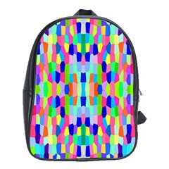 Artwork By Patrick Colorful 35 School Bag (large)