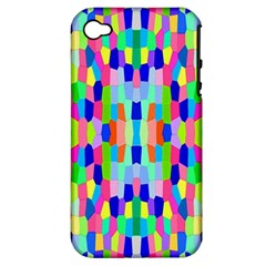 Artwork By Patrick Colorful 35 Apple Iphone 4/4s Hardshell Case (pc+silicone)