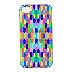 Artwork By Patrick Colorful 35 Apple Iphone 4/4s Hardshell Case With Stand