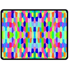 Artwork By Patrick Colorful 35 Double Sided Fleece Blanket (large)