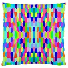 Artwork By Patrick Colorful 35 Standard Flano Cushion Case (one Side)