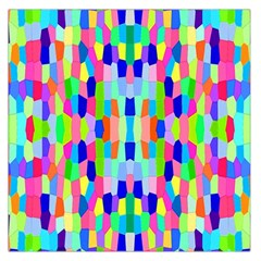 Artwork By Patrick Colorful 35 Large Satin Scarf (square)