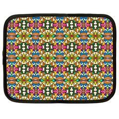 Artwork By Patrick Colorful 36 Netbook Case (large)