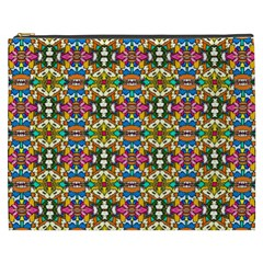 Artwork By Patrick Colorful 36 Cosmetic Bag (xxxl)