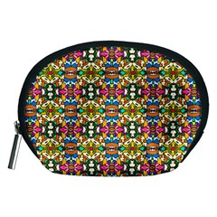Artwork By Patrick Colorful 36 Accessory Pouches (medium)