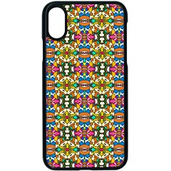 Artwork By Patrick Colorful 36 Apple Iphone X Seamless Case (black)