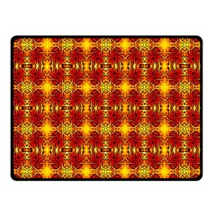 Artwork By Patrick Colorful 37 Double Sided Fleece Blanket (small)
