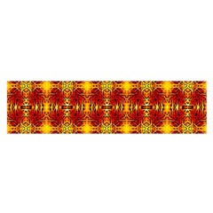 Artwork By Patrick Colorful 37 Satin Scarf (oblong)