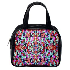 Artwork By Patrick Colorful 38 Classic Handbags (one Side)