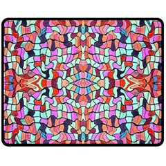 Artwork By Patrick Colorful 38 Fleece Blanket (medium)