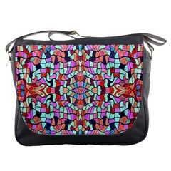 Artwork By Patrick Colorful 38 Messenger Bags