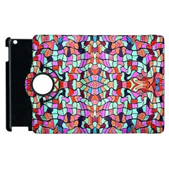 Artwork By Patrick Colorful 38 Apple Ipad 3/4 Flip 360 Case