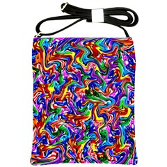 Artwork By Patrick Colorful 39 Shoulder Sling Bags
