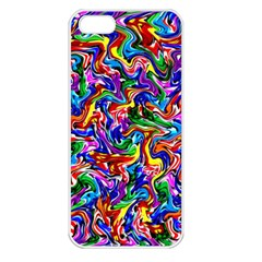 Artwork By Patrick Colorful 39 Apple Iphone 5 Seamless Case (white)