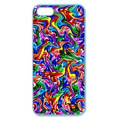 Artwork By Patrick Colorful 39 Apple Seamless Iphone 5 Case (color)