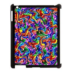 Artwork By Patrick Colorful 39 Apple Ipad 3/4 Case (black)