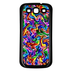 Artwork By Patrick Colorful 39 Samsung Galaxy S3 Back Case (black)