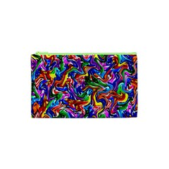 Artwork By Patrick Colorful 39 Cosmetic Bag (xs)