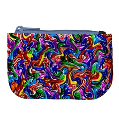 Artwork By Patrick Colorful 39 Large Coin Purse