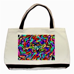 Artwork By Patrick Colorful 40 Basic Tote Bag (two Sides)