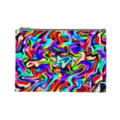 Artwork By Patrick Colorful 40 Cosmetic Bag (large)