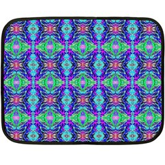 Artwork By Patrick Colorful 41 Double Sided Fleece Blanket (mini)