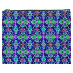Artwork By Patrick Colorful 41 Cosmetic Bag (xxxl)