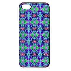 Artwork By Patrick Colorful 41 Apple Iphone 5 Seamless Case (black)