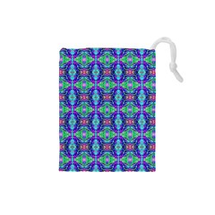 Artwork By Patrick Colorful 41 Drawstring Pouches (small)