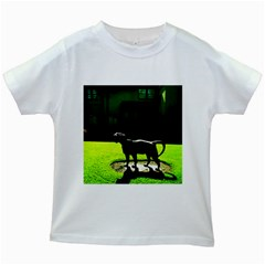 Guard 3 Kids White T Shirts