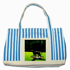Guard 3 Striped Blue Tote Bag