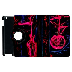 Calligraphy Apple Ipad 2 Flip 360 Case