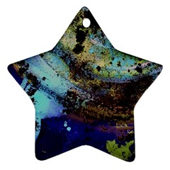 Blue Options 3 Ornament (star)