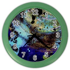 Blue Options 3 Color Wall Clocks
