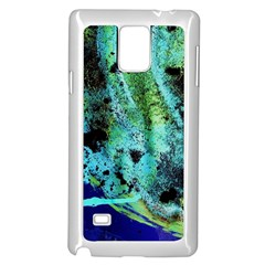 Blue Options 6 Samsung Galaxy Note 4 Case (white)